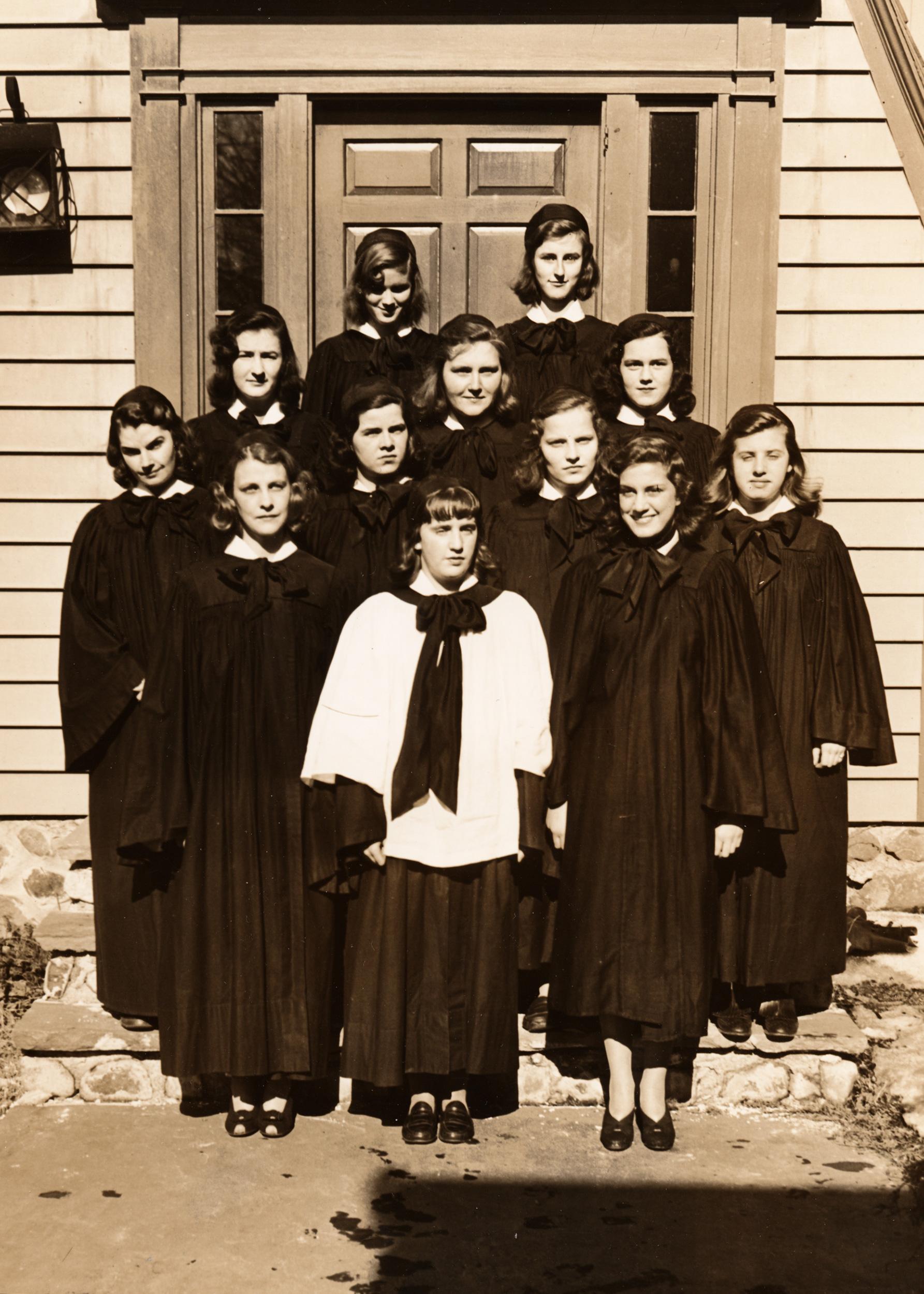 Episcopal choir - 1942